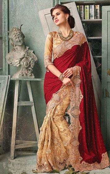 Designer Sarees in Jammu And Kashmir